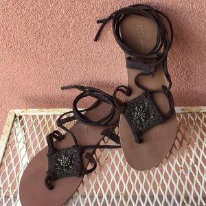Zigi New York gladiator style sandals